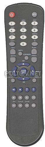 Q-See QSC304 ,  Sarmatt DSR 404-h, Hikvision DS-7204HVI-ST, BestDVR-801 Real пульт для комплекта видеонаблюдения
