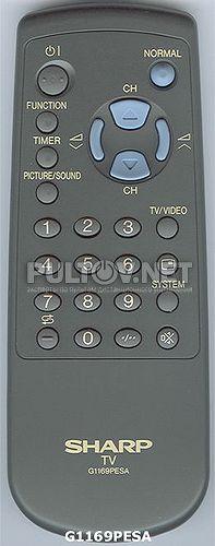 SHARP телевизор CV-2195RU.