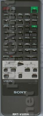 RMT-V109, RMT-V109A пульт для видеомагнитофона Sony SLV-416EE