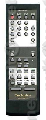 RAK-HDA07WH, RAK-HDA06WH пульт для музыкального центра Technics SD-HD501 и др.