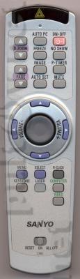 CXRS пульт для проектора SANYO PLC-XU58 и других