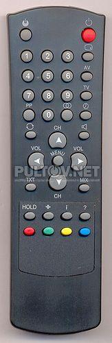 WTR-2008, LCD-2006 , POLAR RC-0401, POLAR RC-7201, BEKO WTR-2008  пульт для телевизора TVT и других брендов