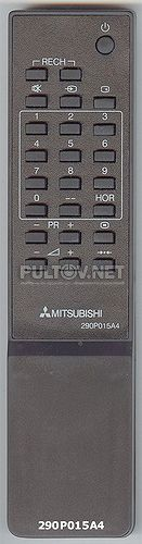 290P015A40, 290P015A4 пульт для телевизора MITSUBISHI CT-14MS1EEM и других