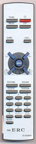 XT-21A5T , ERC CE-0528AW пульт для телевизора