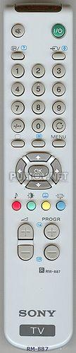 RM-887 , RM-889 НЕоригинальный пульт для телевизора SONY KV-25FX30K и других.
