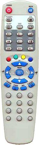TV оригинальный пульт ДУ #2 (микросхема SC3010S)