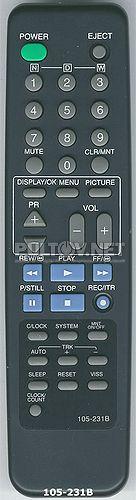 105-231A, 105-231B, 105-231P, 105-231Y пульт для моноблока LG