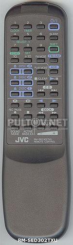 RM-SED40TEU, RM-SED40TU , JVC RM-SED302TXU пульт для музыкального центра JVC