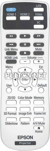 165025100 пульт для проектора Epson PowerLite Home Cinema 2040 и др.