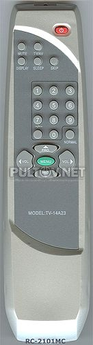 STV-2199 , POLAR RC-2101MC [TV-14A23] пульт ДУ для телевизора