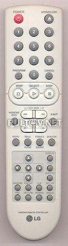 6710RCQG01A пульт для DVD -плеера LG с караоке