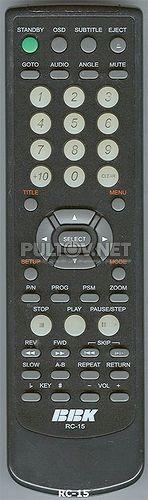 RC-15 пульт для DVD-плеера BBK