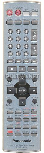 EUR7722X30 пульт для домашнего кинотеатра Panasonic SC-HT870 и др.
