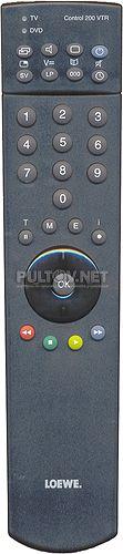 Control 200 VTR [TV, VTR, DVD] оригинальный пульт Loewe
