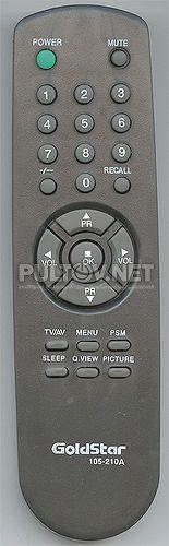 105-210A пульт для телевизора.