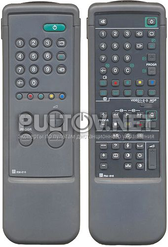RM-816 неоригинальный пульт для телевизора Sony