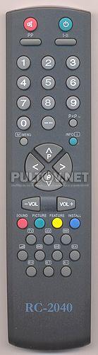 RC-2040, RC-2041 пульт для телевизора