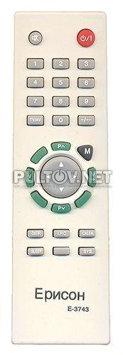 TECHNO E-3743 пульт для телевизора.  Order неоригинал.