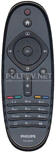 2422 5490 2543 (он же YKF278-001 и 2422 5499 0239 ) оригинальный пульт для телевизоров PHILIPS 5 SERIES