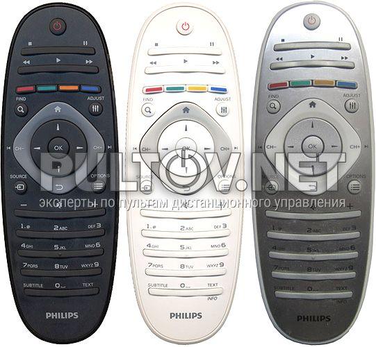 2422 549 90301 ( RC2813802/01 ), 2422 549 90416, RC2813805/01 оригинальный пульт для телевизора Philips 40PFL6606 и др.