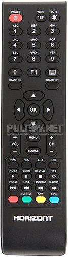 24LE5181D пульт для телевизора Horizont