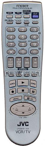 LP20878-008, JVC LP20878-018B пульт для видеомагнитофона JVC HR-J271MS и др.