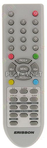 BC3801-10, S-26L2A, ONIKS 26L16, ERISSON 26LS16 пульт для телевизора