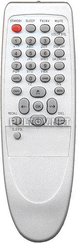 RC-1153038 , POLAR RC-1153038 (RC115M28-2) , RC-1153012, SHIVAKI  пульт ДУ для телевизора