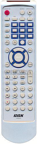 DW9952K , BBK DW9955K пульт для DVD-рекордера BBK
