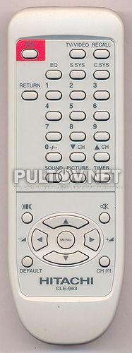 CLE-963 пульт для телевизора Hitachi