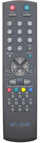 ELDORADO RC-2040 пульт для телевизора