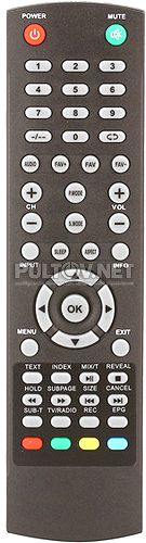 28LEE30T2 пульт для телевизора Erisson