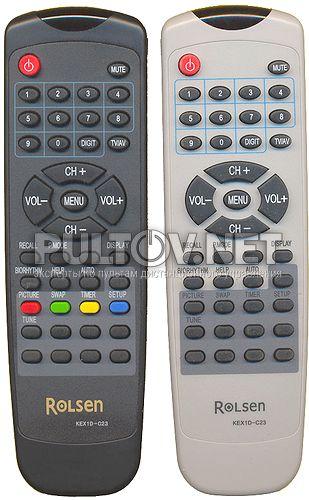 TV KEX2A-C4, KEX2C-C9 оригинальный пульт ДУ (ПДУ)