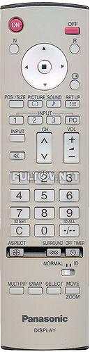 EUR7636070R, EUR7636090R оригинальный пульт плазменного телевизора PANASONIC TH-37PR10U и других