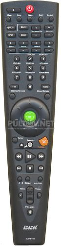 RC073-02R пульт для домашнего кинотеатра BBK