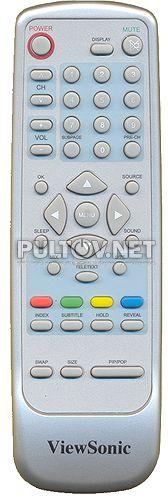 ViewSonic 98TR7SW-ENT-VSF,  AOC 098TR7SW-ENT-VSF пульт для телевизора ViewSonic N2060W и AOS