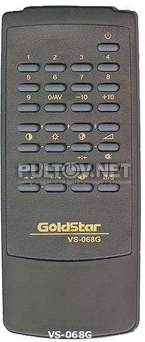 VS-068G, GOLD STAR VS-068G,  HYUNDAI VS-068G пульт для телевизора