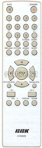 LT2002S оригинальный пульт для телевизора