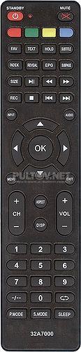 32A7000 пульт для телевизора Dexp