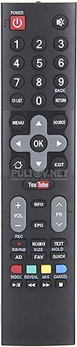 JH-16440 неоригинальный пульт для телевизора Goldstar LT-32T500R и др.