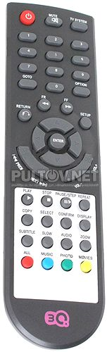 H330H пульт для медиаплеера 3Q
