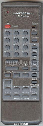 CLE-866B , HITACHI CLE-866A пульт для телевизора