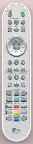 пульт LG 6710V00126R оригинальный