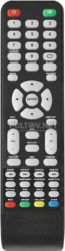 507DTV пульт для телевизора Helix HTV-407T2
