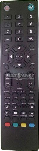 81LTV6004 (вариант 2) пульт для телевизора POLAR