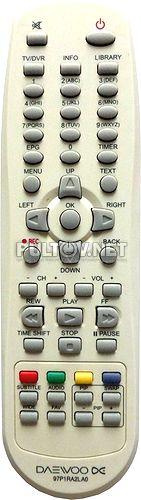 97P1RA2LA0 пульт для рекордера Daewoo DSD-9502T и др.