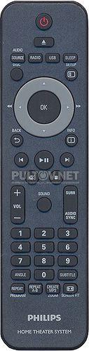 996510021067, CRP628/01, SCB593 пульт для домашнего кинотеатра PHILIPS HTS5540 и других