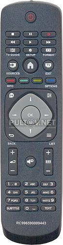 телевизор 32PFT4309/60 - Пульты ДУ! Интернет-магазин ПДУ! Все пульты дистанционного управления!