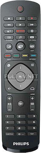 398GR08BEPH03T, 996595005425, YKF348-005 оригинальный пульт для телевизора Philips 32PFH5500 и др.