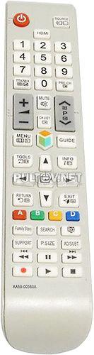 AA59-00560A, AA59-00563A НЕоригинальный пульт для телевизора Samsung UE32ES6710S и других